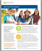 Summer Activities Guide Image